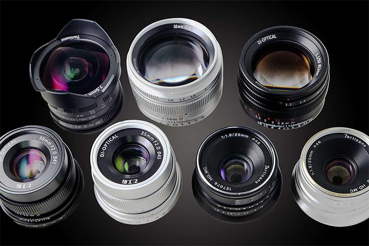 7Artisans Lenses