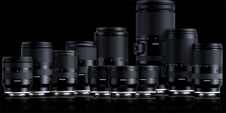 Tamron for Sony E and FE