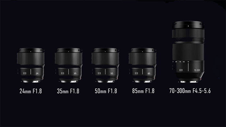 Panasonic LUMIX S (Leica L mount)