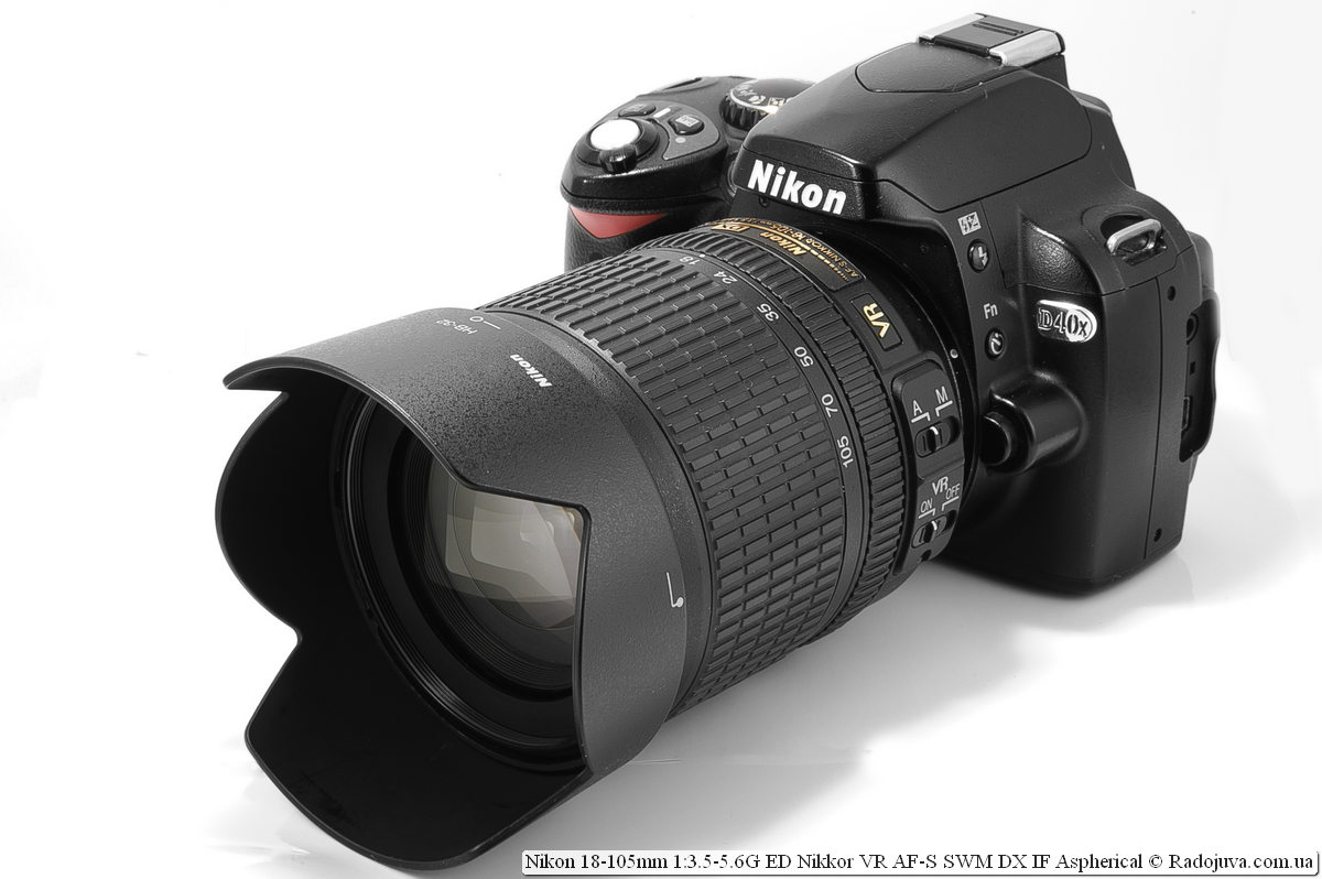 Nikon Nikkor dx 18-105mm on Nikon D40x camera