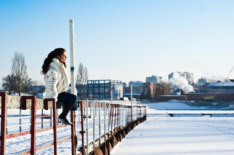 Приме зимней фотографии
