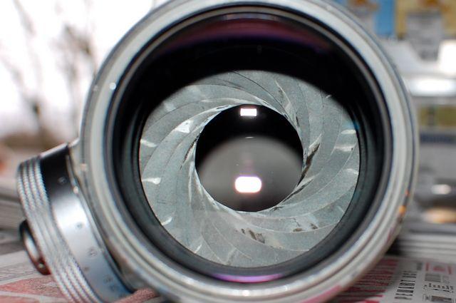 Диафрагма объектива Таир 3