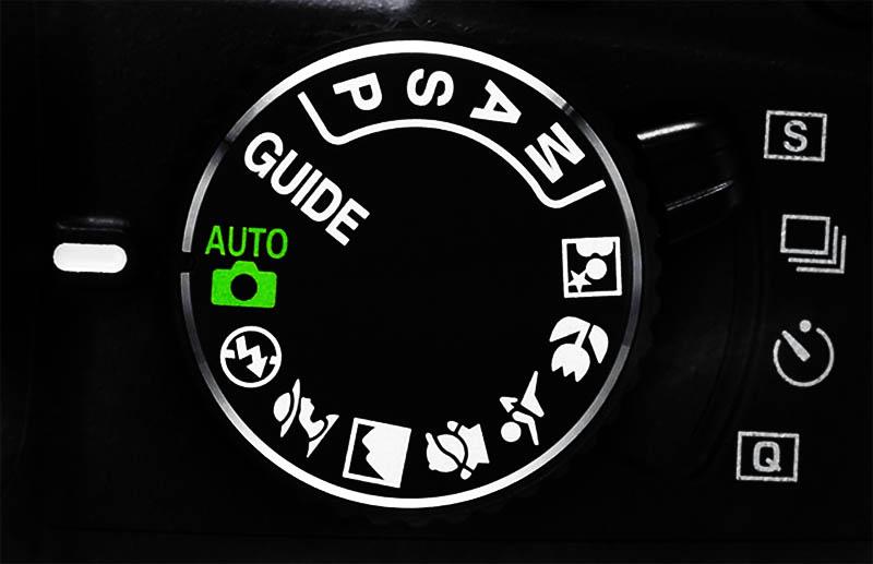 Режимы на фотокамере