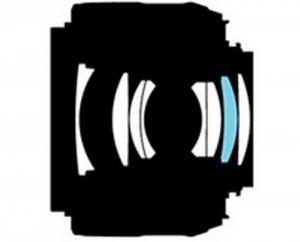 Оптическая схема Nikon 35 1.8G DX
