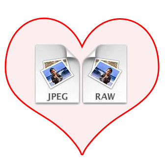 JPEG and RAW
