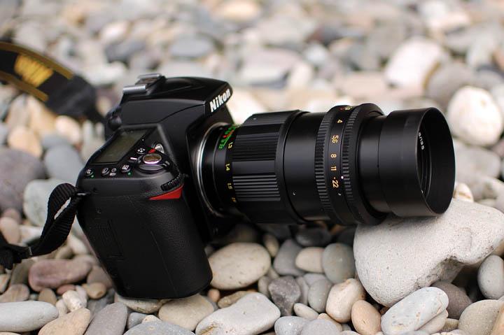 Советский объектив на камере Nikon