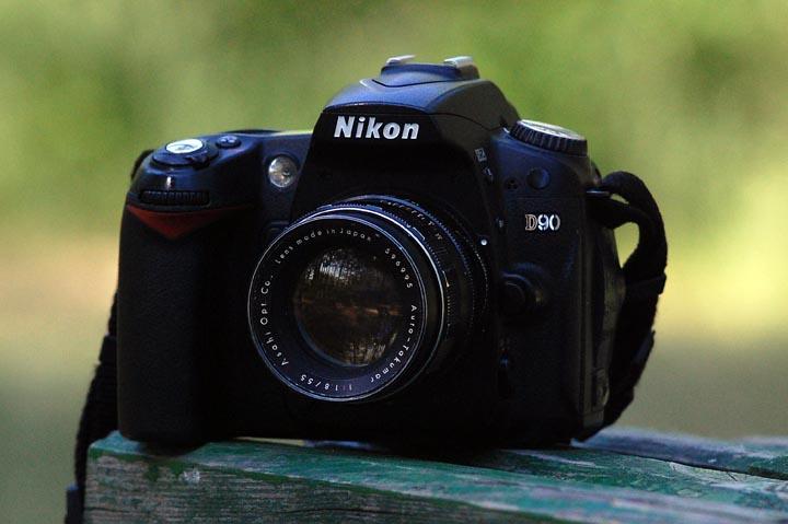 Вид Auto-Takumar 55mm f1.8