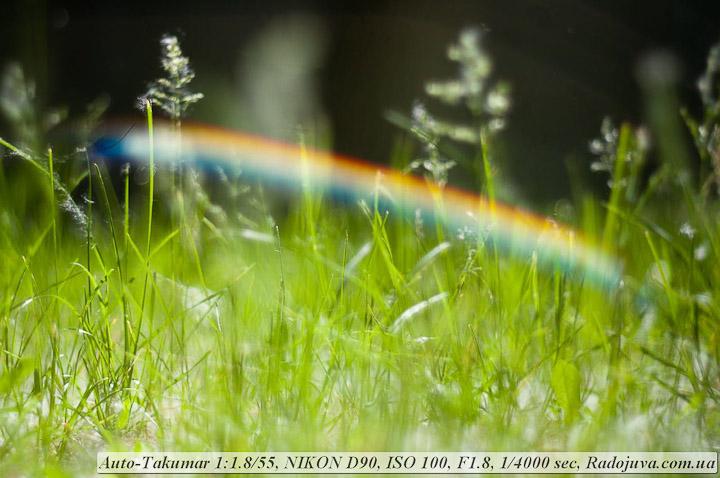 Фото на Auto-Takumar 55mm f/1.8-16.0 в контровом свете