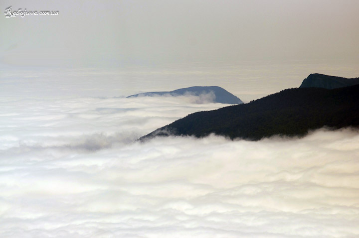 Выше облаков - фото с похода в горы