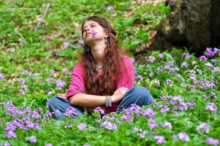На природе всега можно найти множество цветов