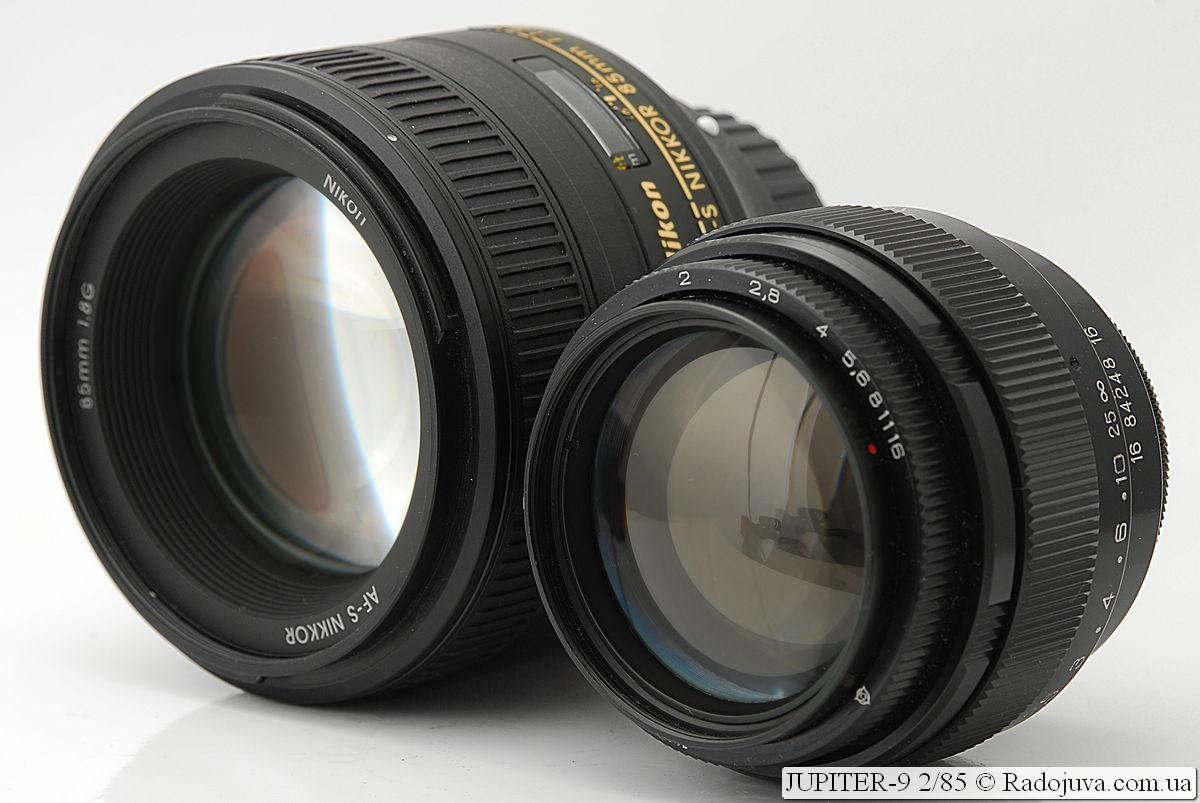 JUPITER-9 2/85 (ЛЗОС) и Nikon AF-S Nikkor 85mm 1:1.8G IF SWM