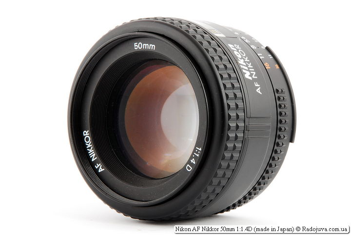 Review of Nikon AF Nikkor 50mm 1: 1.4D (made in Japan)
