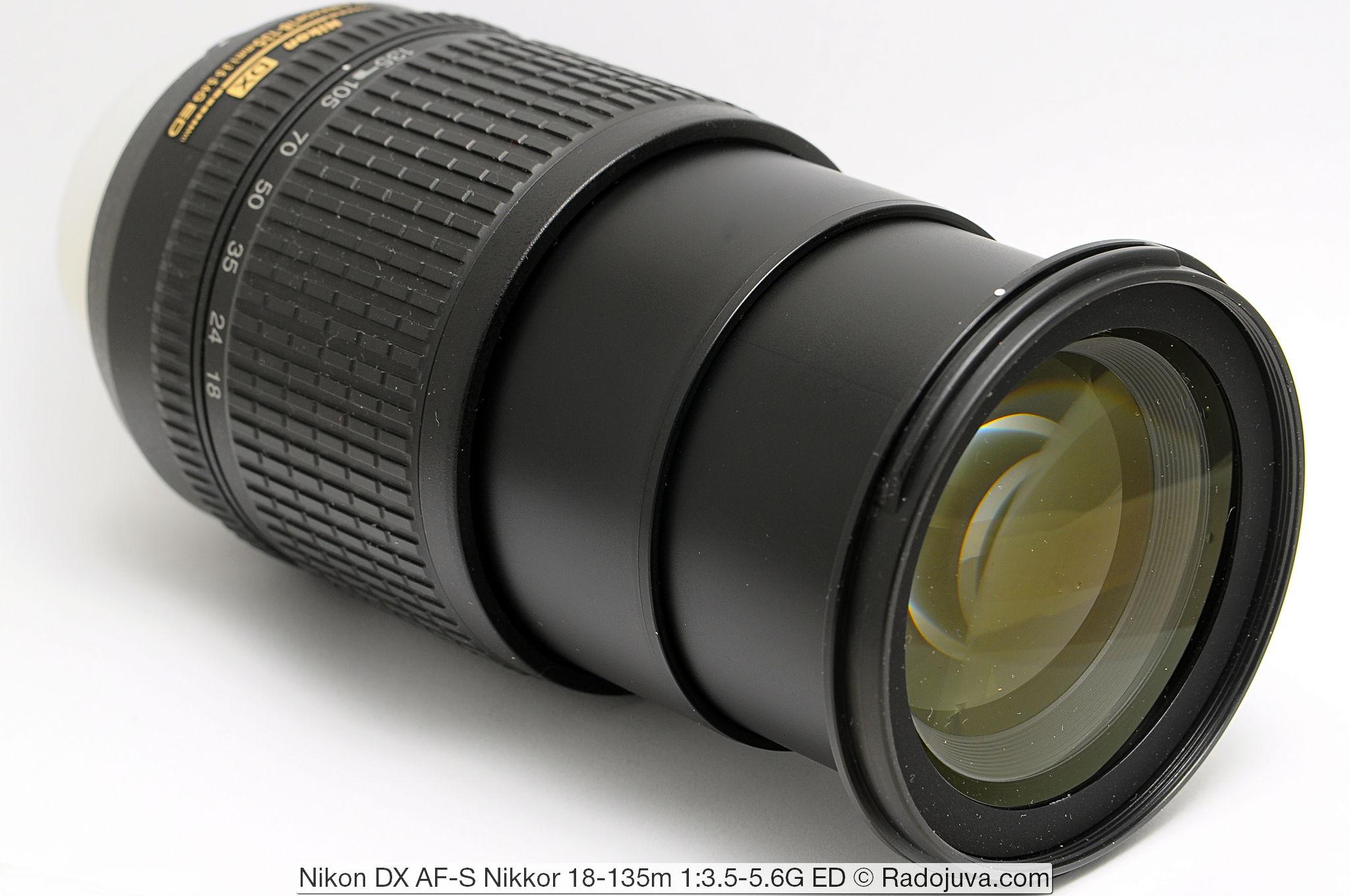 Nikon DX AF-S Nikkor 18-135m 1:3.5-5.6G ED SWM IF Aspherical