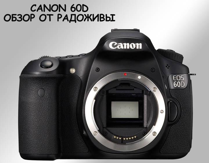 Обзор камеры Canon 60D