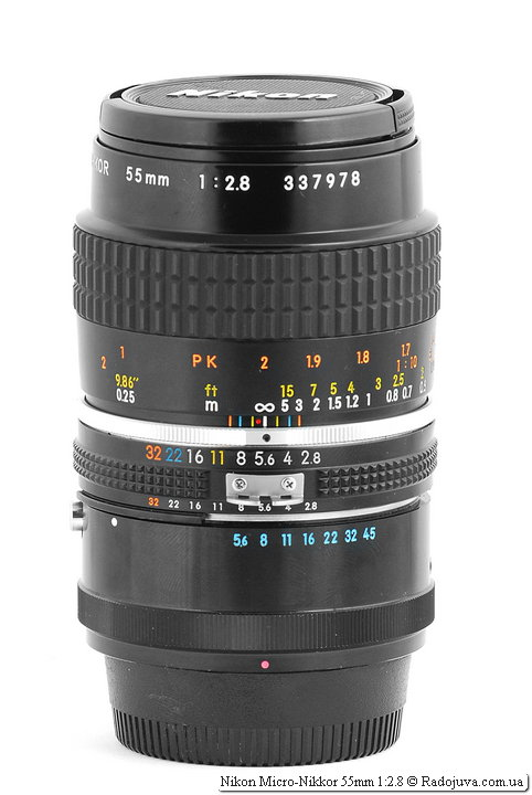 Nikon Micro-Nikkor 55mm 1: 2.8