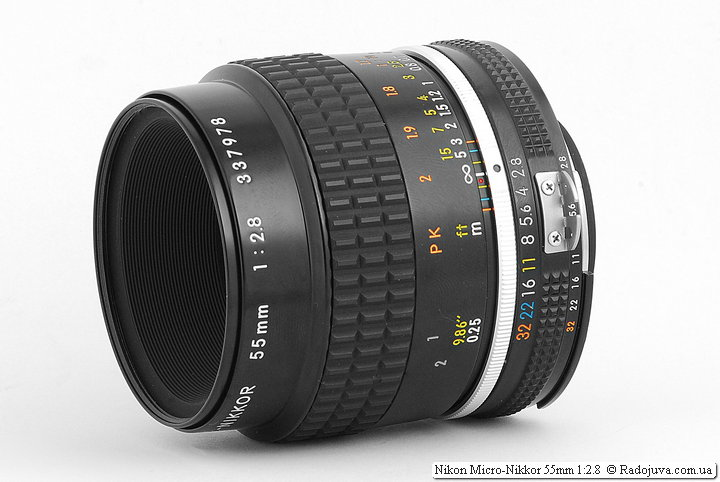 Nikon Micro-Nikkor 55mm 1: 2.8 (AI-S) review