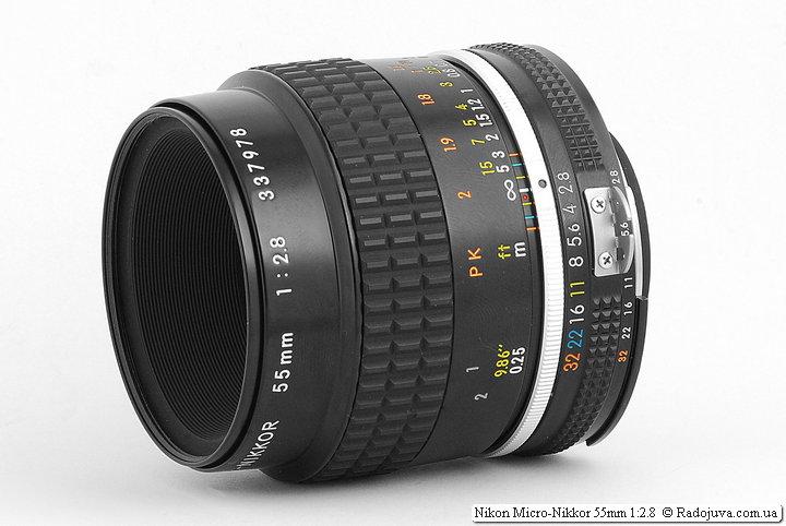 Обзор Nikon Micro-Nikkor 55mm 1:2.8 (AI-S)