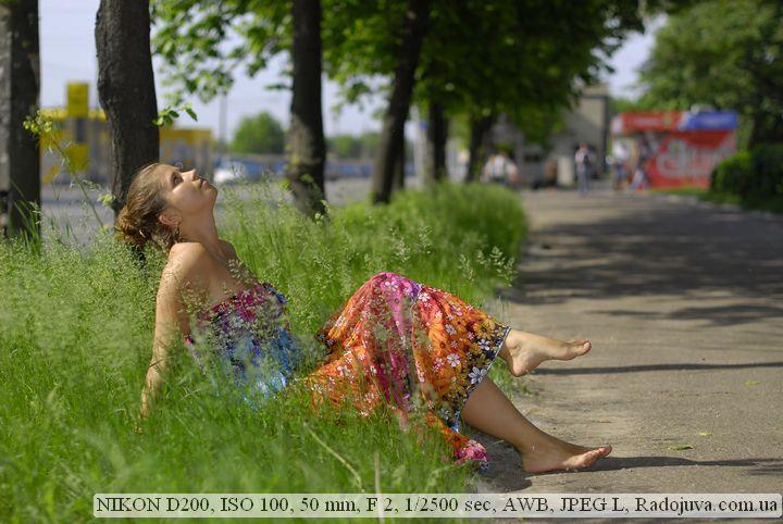 Пример фотографии на Nikon D200
