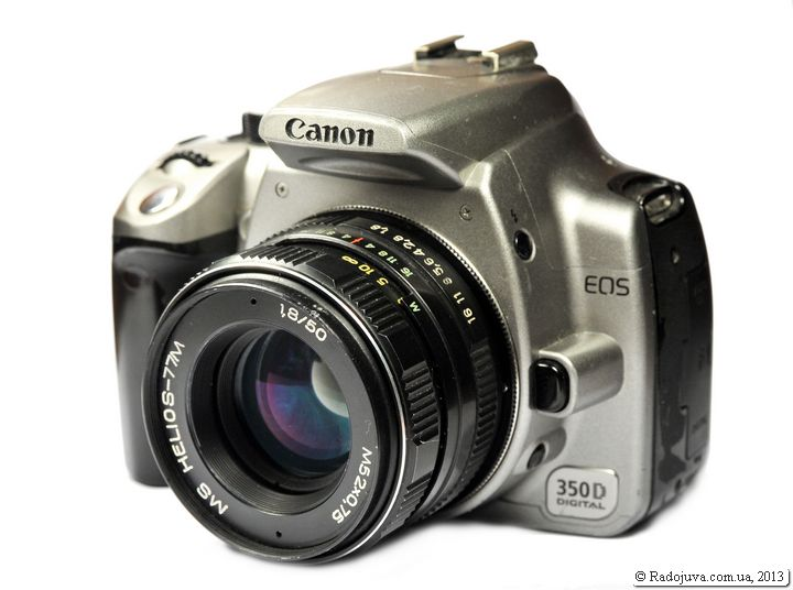 Cоветская оптика на Canon.  Cоветские объективы для Canon.