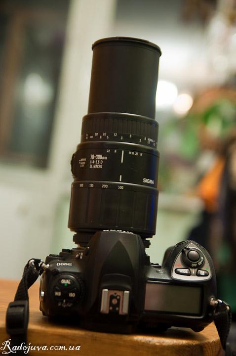 Sigma AF 70-300mm F4.0-5.6 DL MACRO