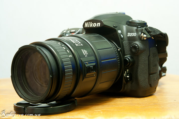 Вид Sigma AF 70-300mm F4.0-5.6 DL MACRO на 70мм