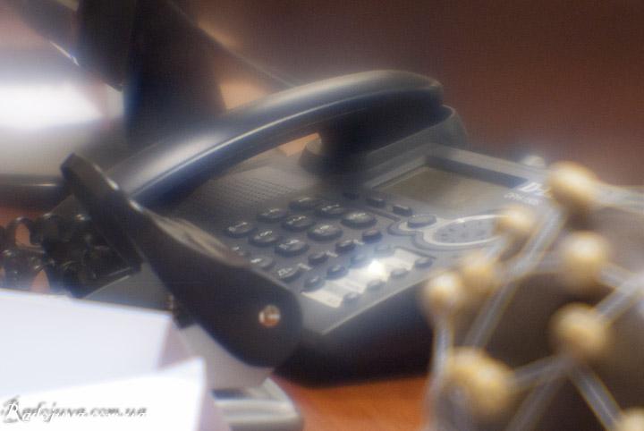 Фотография на монокль. Телефон.