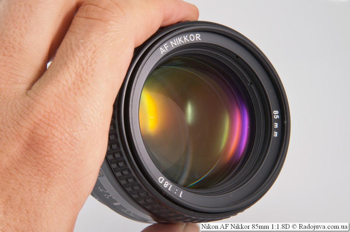 Nikkor AF 85mm f/1.8 D