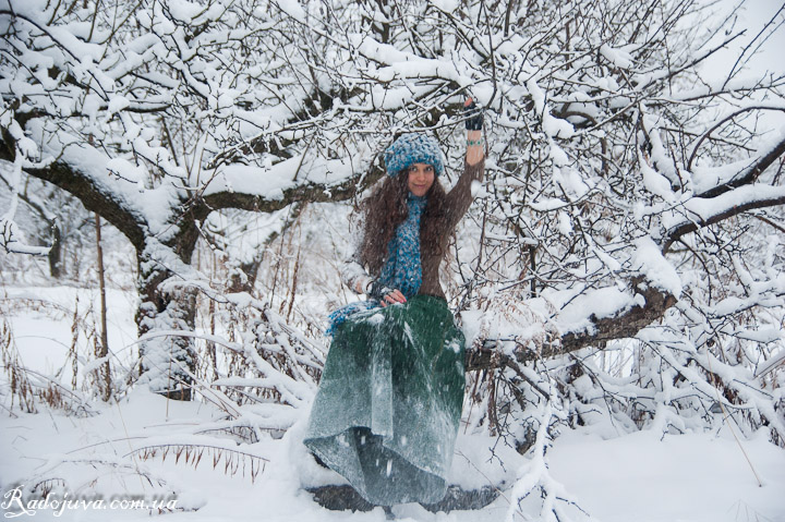 Фотография зимой на цифро зеркальную камеру
