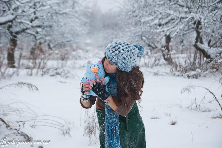 Фото сделанное в мороз на зеркалку