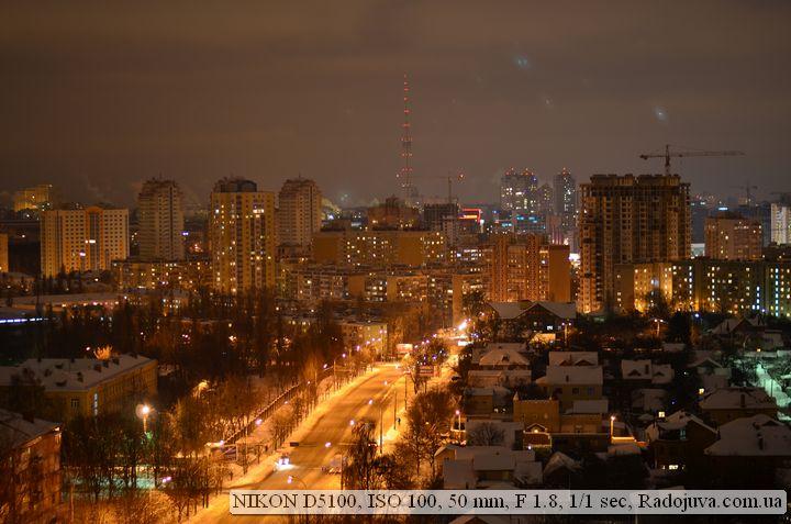Фото на Никон Д5100 на низких ИСО при плохом освещении