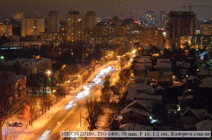 Пример фото на Nikon D5100 на высоких ИСО