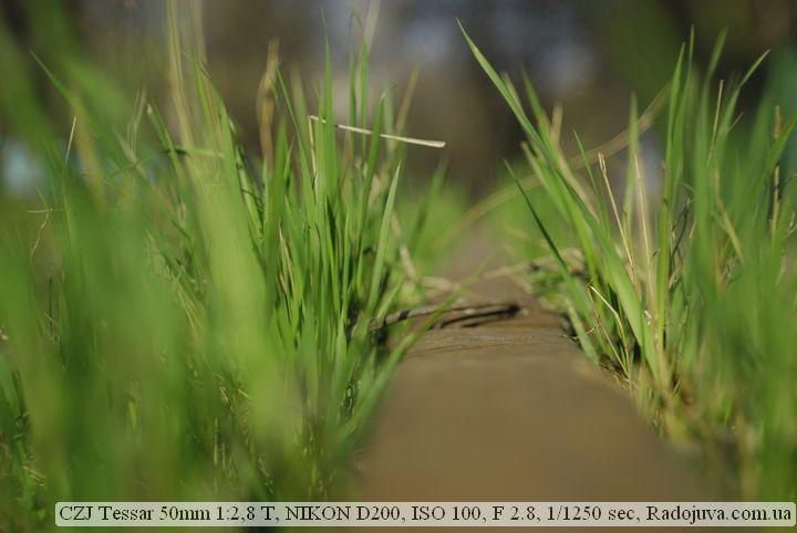Фотография на CZJ Tessar 50mm 1:2,8 T