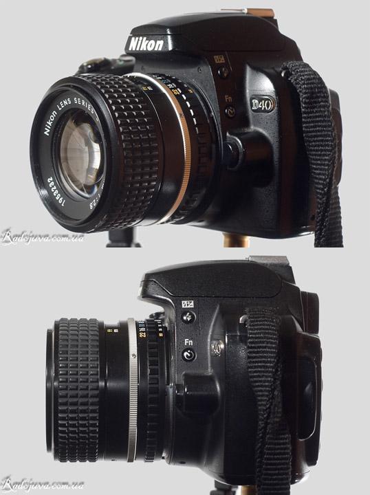Вид объектива Nikon 100mm F2.8 Series E на современной ЦЗК
