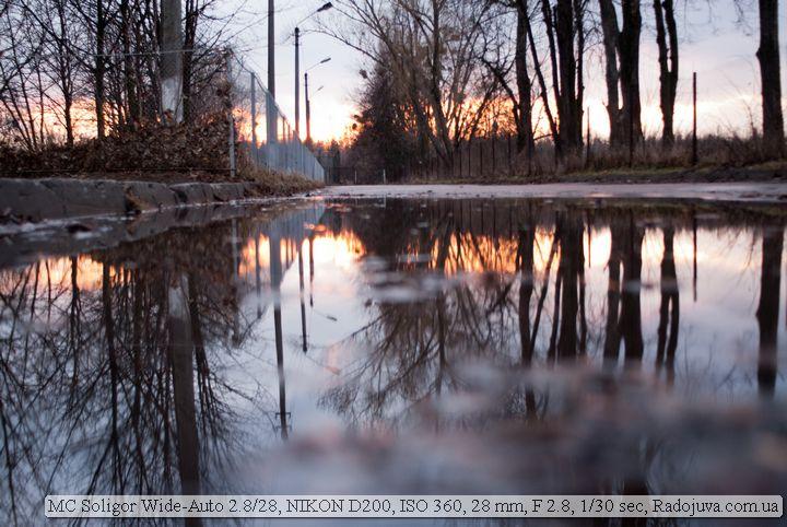 Пример фотографии на Солигор 2.8 28мм