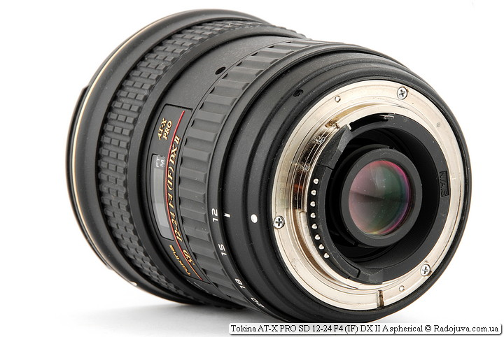 Tokina AT-X PRO SD 12-24 F4 (IF) DX II Aspherical