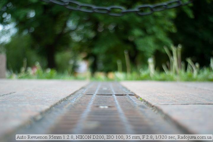 Фото на Auto Revuenon 35 mm 1:2.8 ГРИП