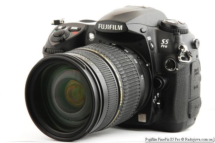 Fujifilm FinePix S5 Pro c Tamron SP AF Aspherical XR Di LD [IF] 28-75mm 1:2.8 Macro A09 (Model A09N & Model A09N II)