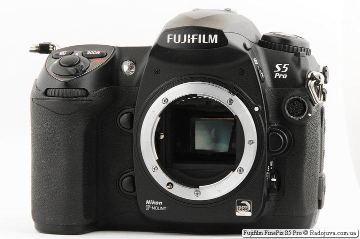 Обзор Fujifilm FinePix S5 Pro