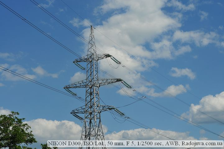 Пример фотографии на Nikon D300 без обработки
