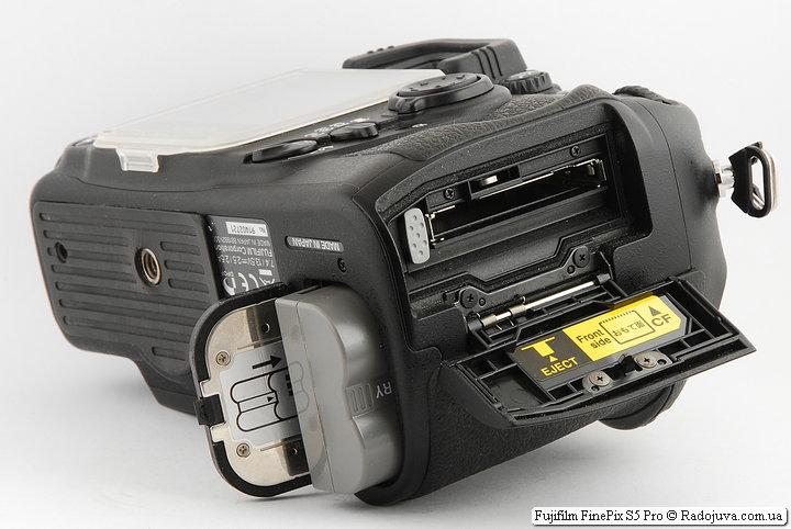 Отсек для батарей и карт памяти S5 Pro