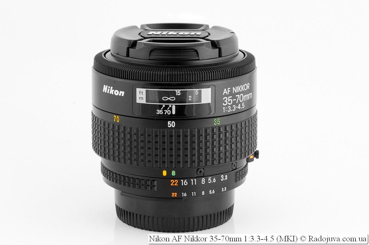 Nikon Nikkor AF 35-70 F/3.3-4.5 MKI