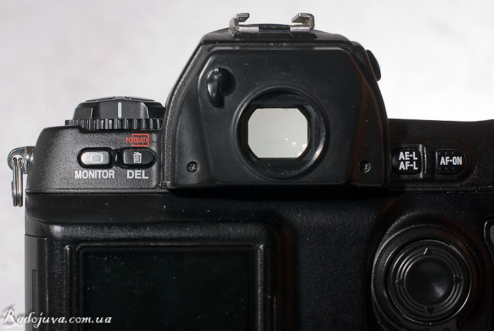 Вид Nikon D1H