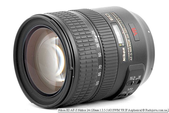 Обзор Nikon ED AF-S Nikkor 24-120mm 1:3.5-5.6G SWM VR IF Aspherical