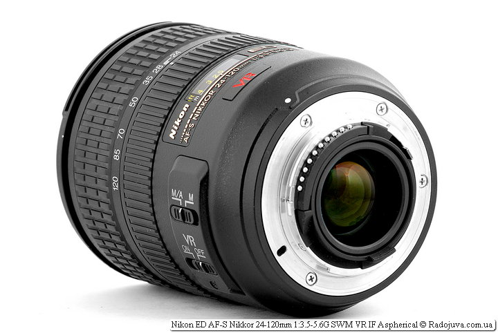 Nikon ED AF-S Nikkor 24-120mm 1:3.5-5.6G SWM VR IF Aspherical