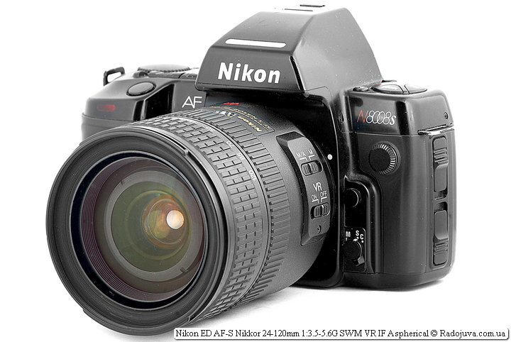 Nikon ED AF-S Nikkor 24-120mm 1:3.5-5.6G SWM VR IF Aspherical на ЗК