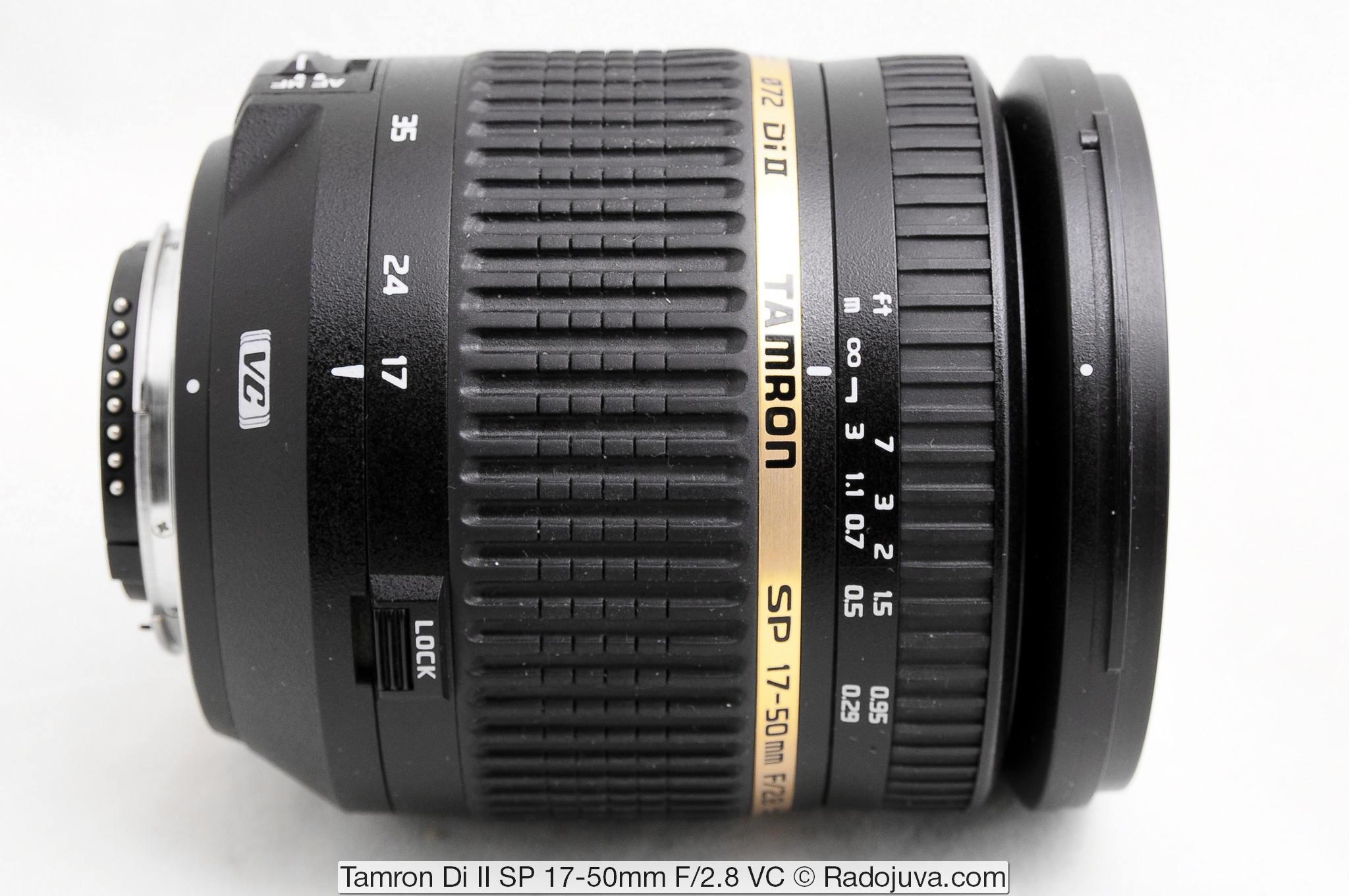 Tamron Di II SP 17-50mm F/2.8 VC
