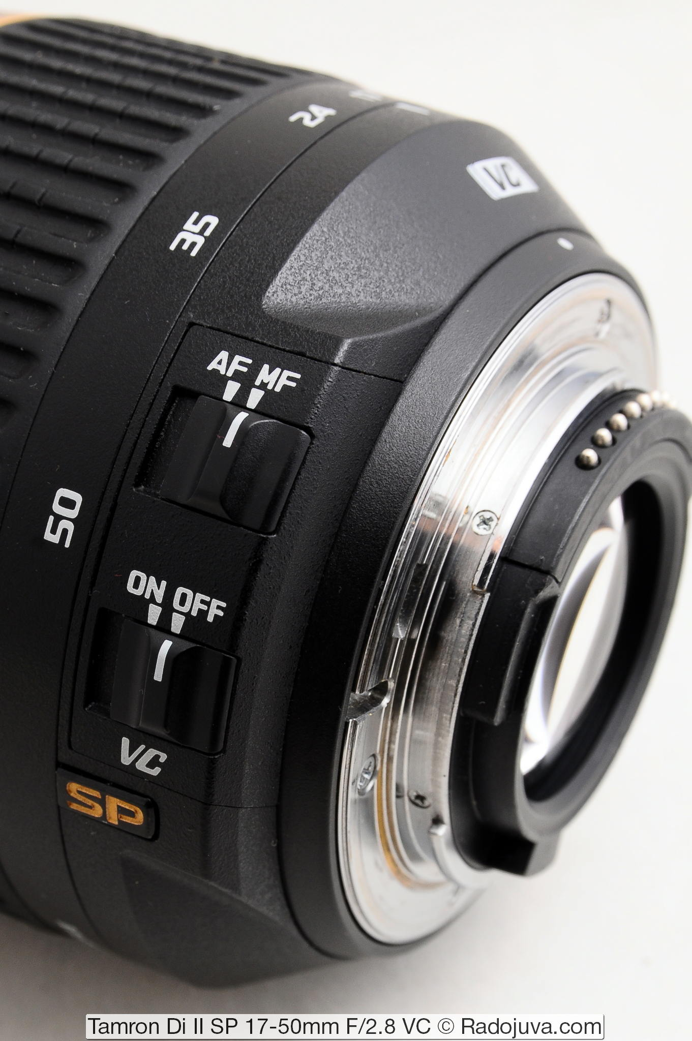 Tamron Di Ii Sp 17 50mm F 28 Vc Xr Ld Aspherical If Canon Eos