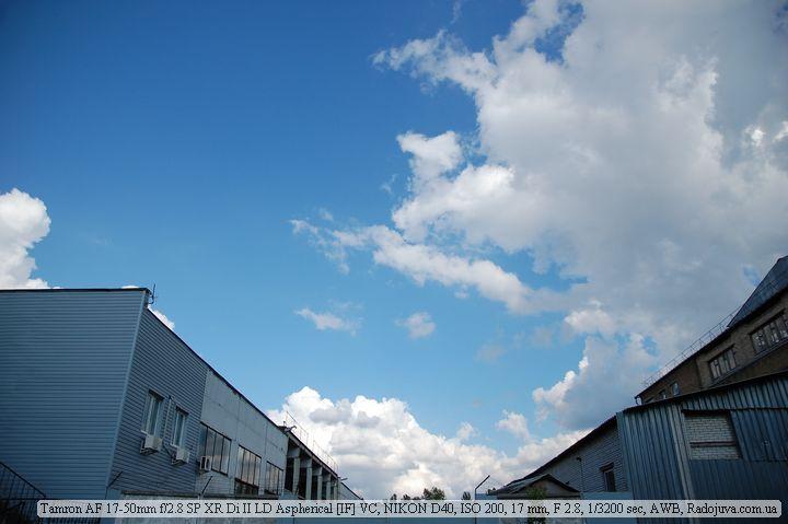 Фото на Tamron AF 17-50mm f/2.8 SP XR Di II LD Aspherical IF VC - сильное виньетирование