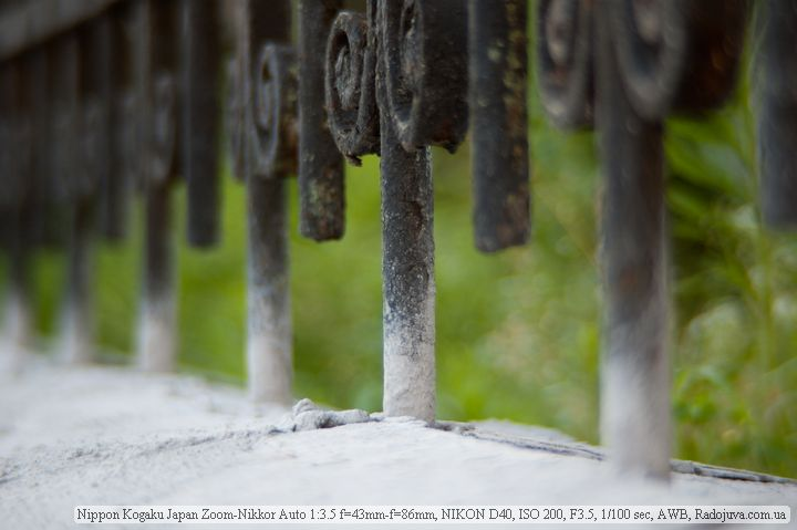 Фото на Nikon 43-86mm f/3.5 Zoom-Nikkor Auto