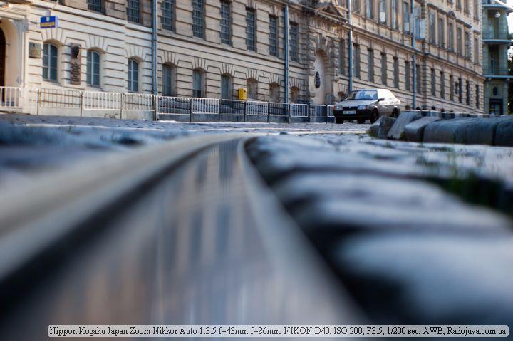 Пример фотографии на Nikon 43-86mm f3.5 Zoom-Nikkor Auto